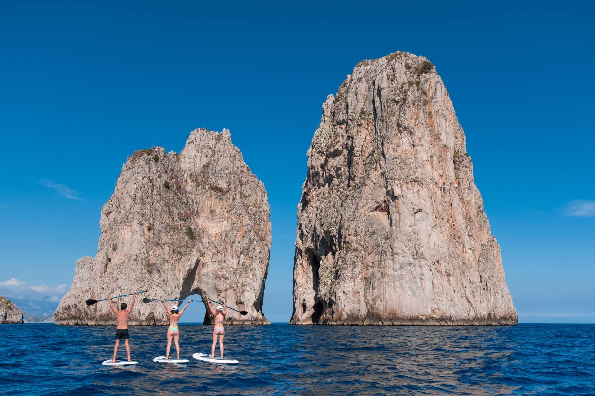 SUP tours in Capri